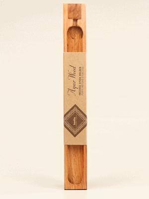 Agarwood insence - Wood insence holder 1